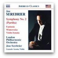 Jose Serebrier CD Cover