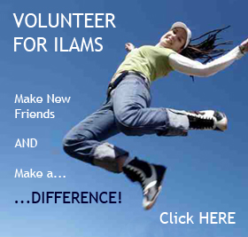 Volunteer for ILAMS